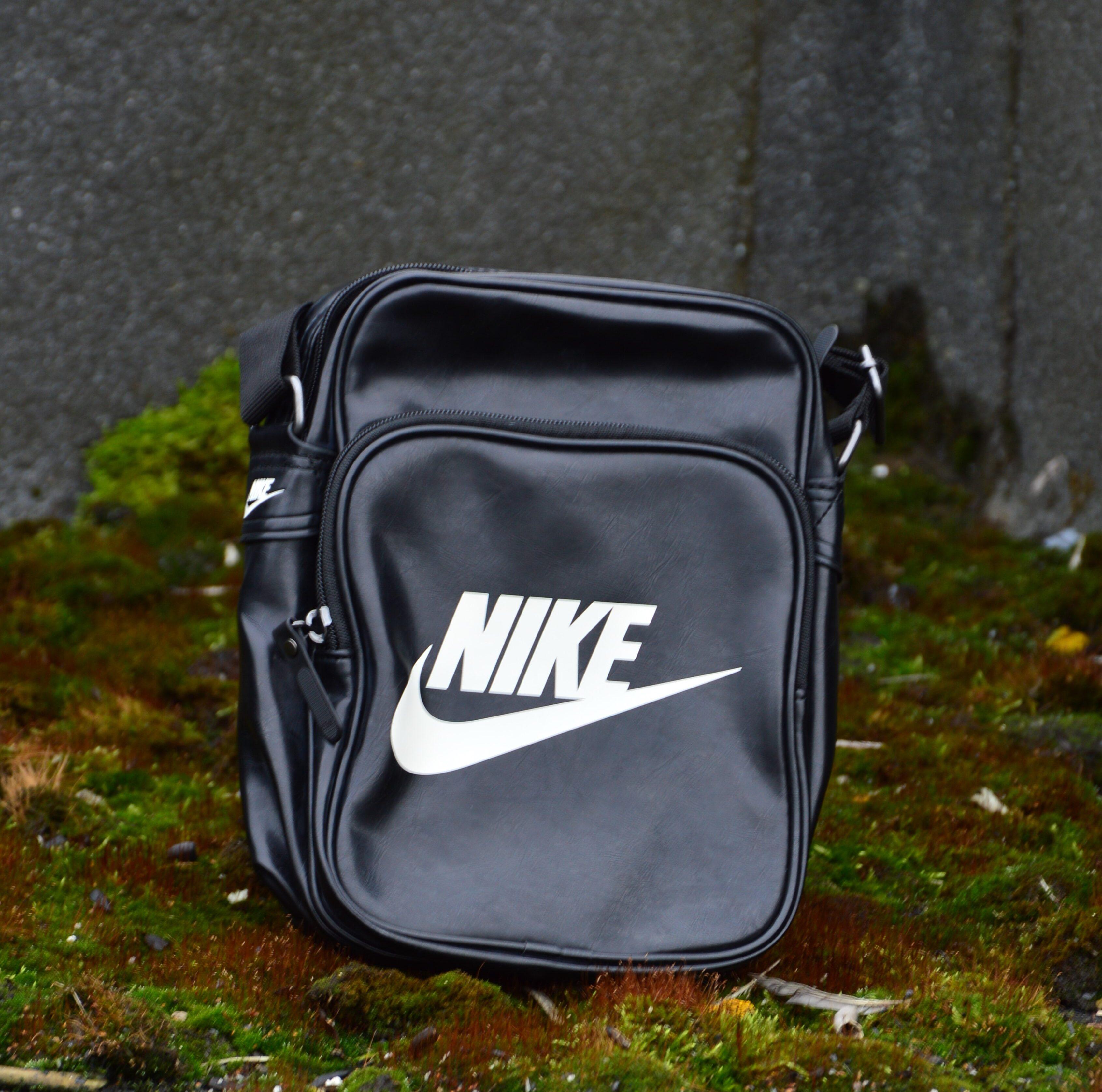 сумка через плечо мужская черная