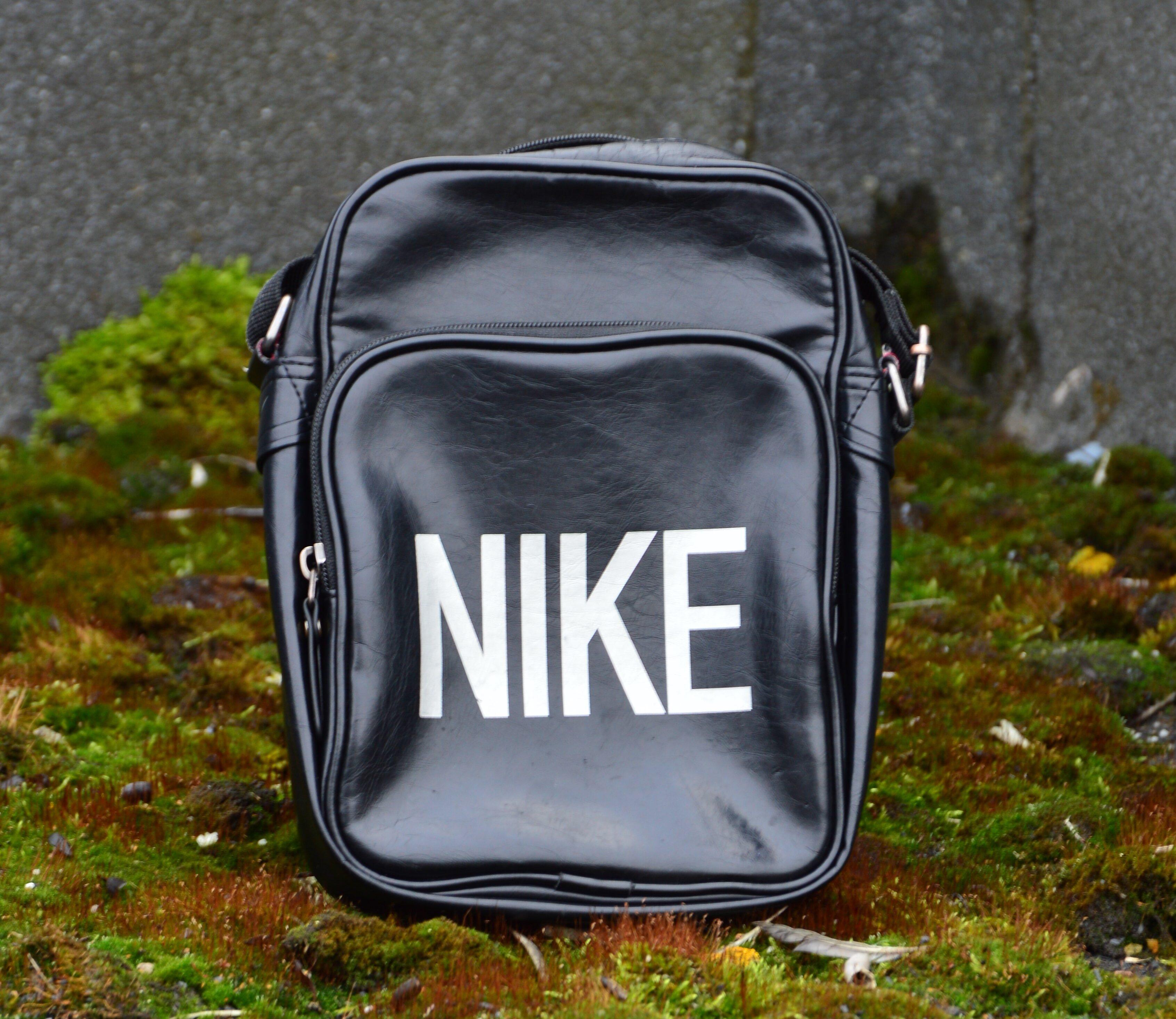 сумка барсетка через плечо черная
