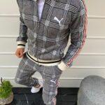 спортивный костюм мужской в клетку Puma