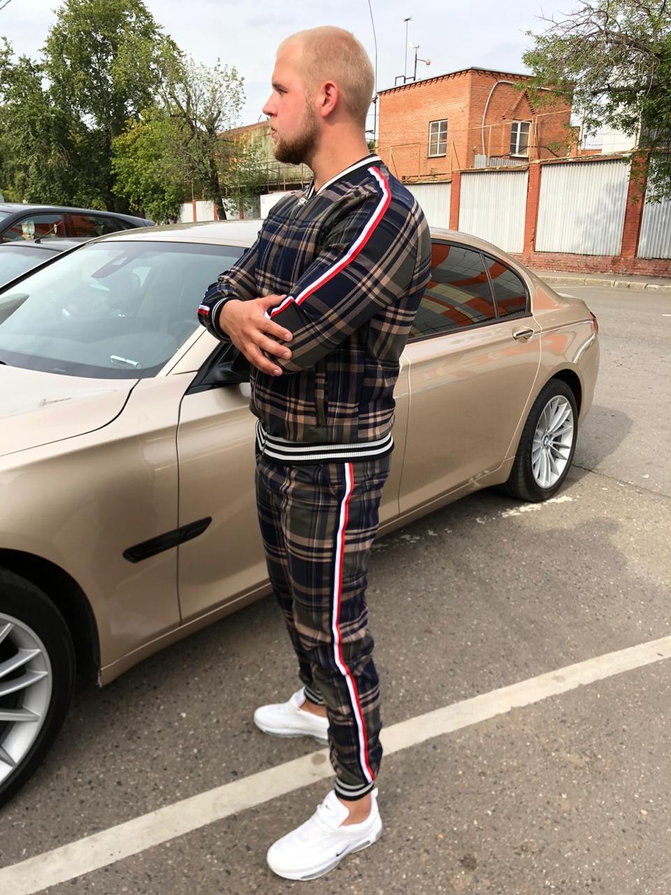 Мужской костюм из джентльменов в спортивном стиле